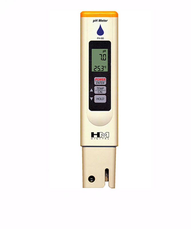 Digitální měřič pH HM Digital PH-80