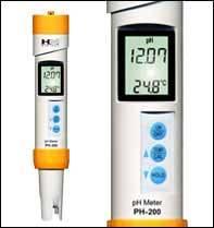 Digitální měřič pH HM Digital PH-200