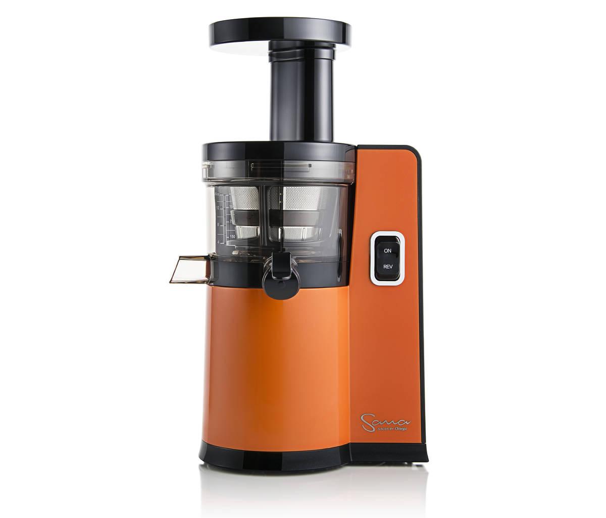 Vertikální odšťavňovač Sana EUJ-808 oranžový firmy Omega