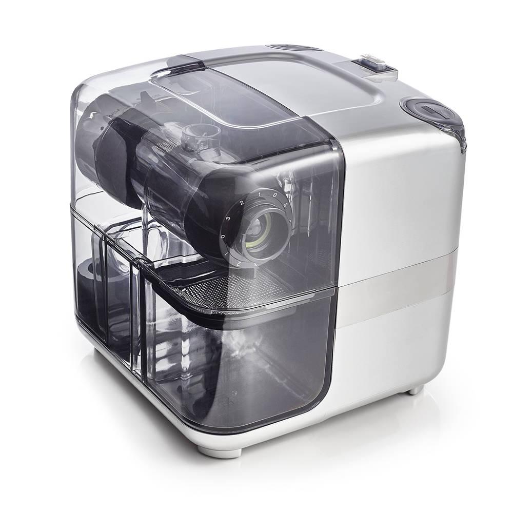 Odšťavňovač Omega Cube 302 stříbrný