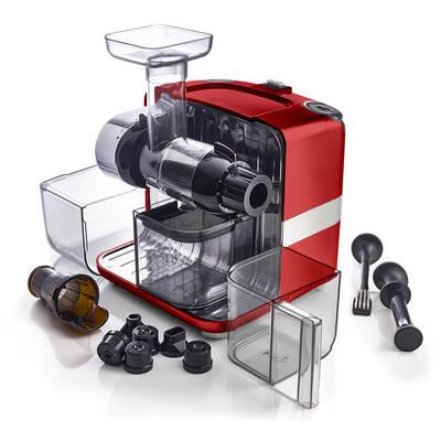 Otevřený odšťavňovač Omega Cube 302 červený