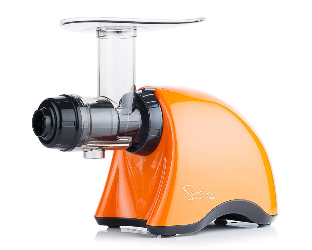 horizontální šnekový odšťavňovač Sana EUJ-707 oranžová