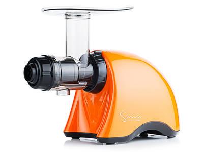 šnekový odšťavňovač Sana Juicer 707 oranžová perleť