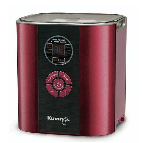 fermentor Kuvings červená