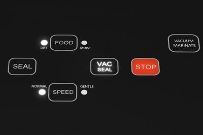 Vidia vacuum sealer detail