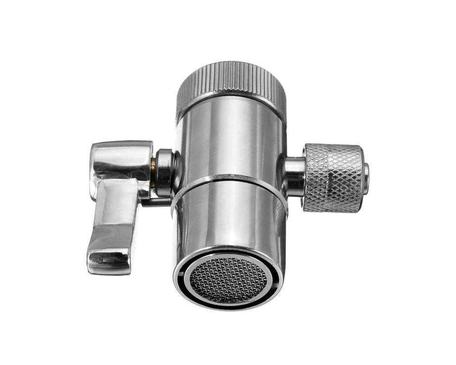 perlátor s kulovým přepínačem | připojení filtru Dionela