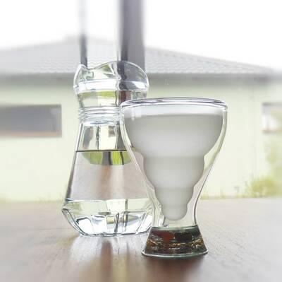 harmonizační pohár ledový