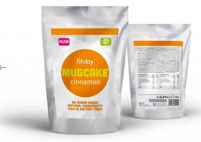 Fit-day mugcake cinnamon 90g 2