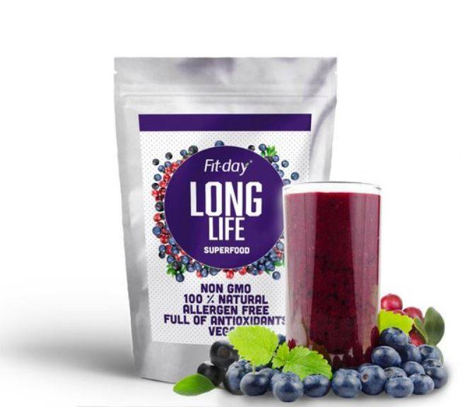 Fit-day Superfood long life 75 g