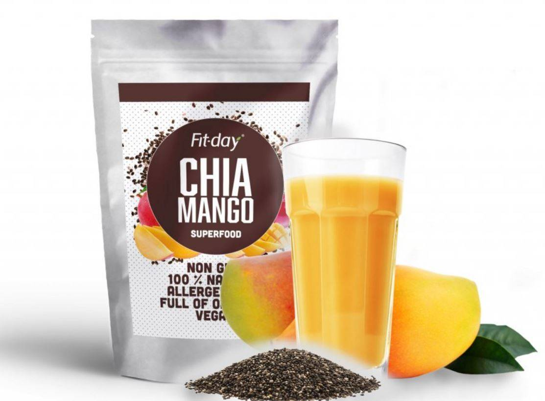 Fit-day Superfood chia mango 90 g