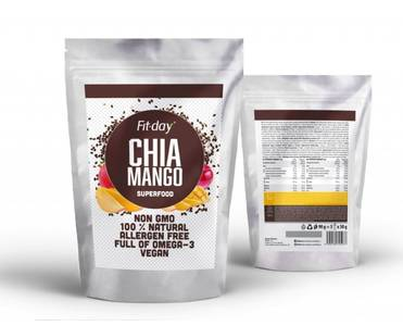 Fit-day chia mango 90g 2