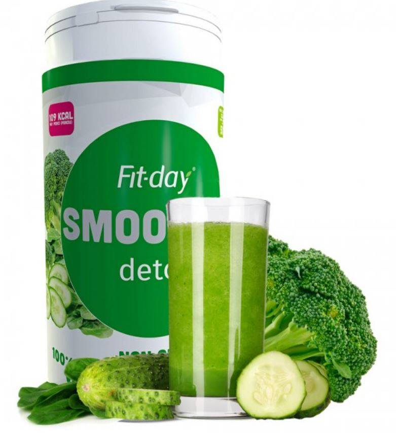 Fit-day Smoothie detox 600 g