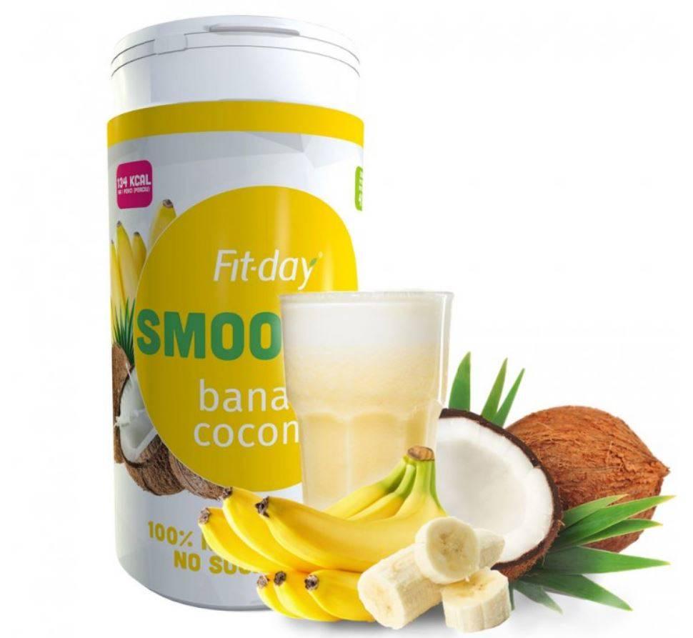 Fit-day Smoothie banán-kokos 600 g