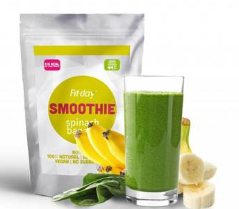 Fit-day spinach banana smoothie 1