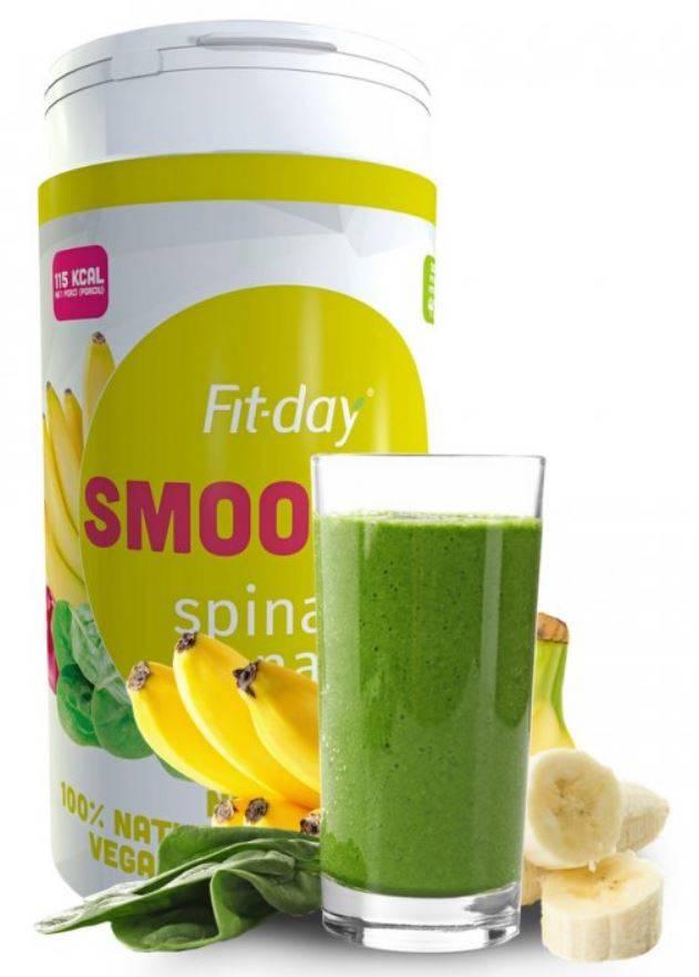 Fit-day Smoothie špenát-banán 600 g