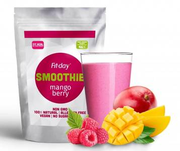 Fit-day mango berry smoothie 1