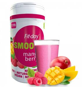 Fit-day mango berry smoothie 600