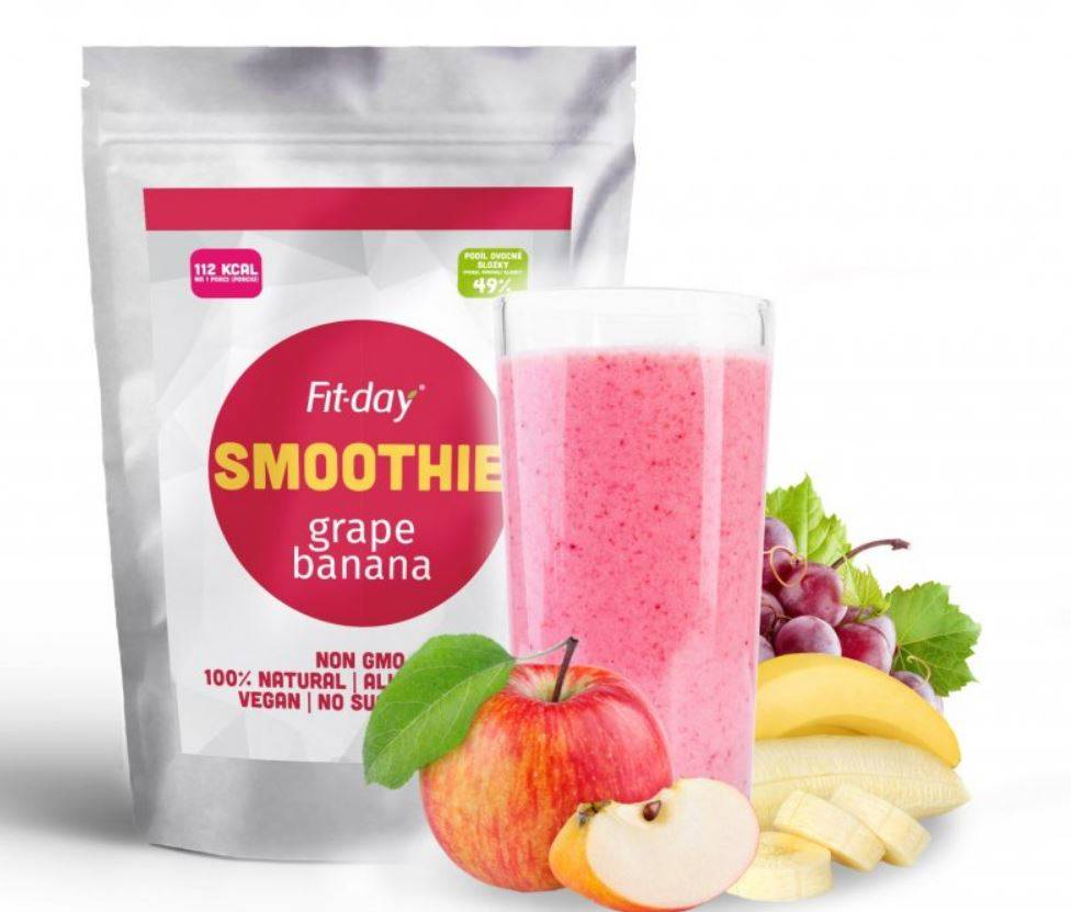 Fit-day Smoothie hrozno-banán 90 g