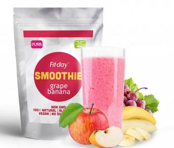 Fit-day grape banana smoothie 1
