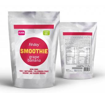 Fit-day grape banana smoothie 2