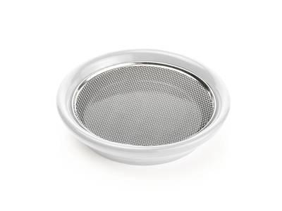 keramická miska na klíčení 12 cm bílá