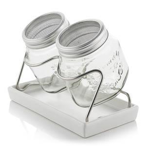 sada 2 ks sklenic na klíčení Eschenfelder 750 ml bílá