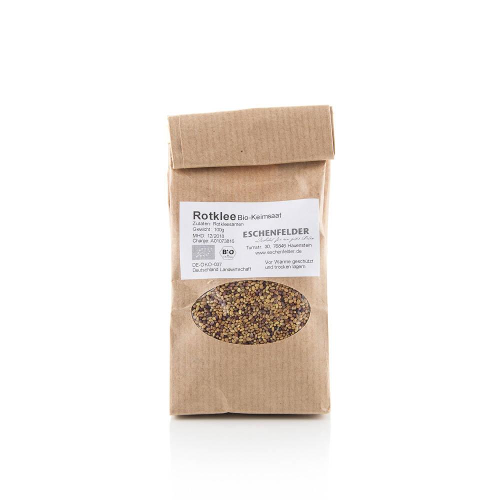 Jetel luční BIO semena na klíčení 100 g