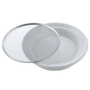 klíčicí miska 16 cm bílá