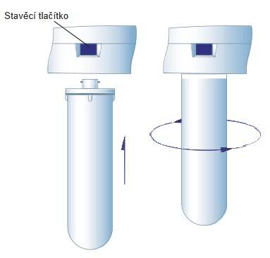výměna filtrační vložky reverzní osmóza