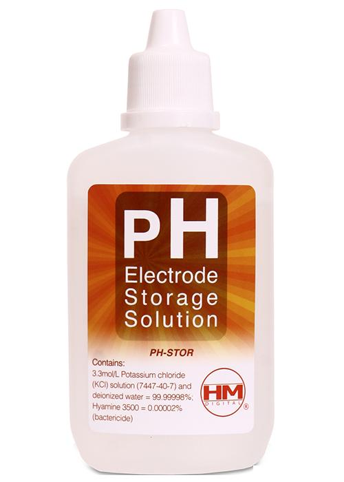 roztok pro skladování pH elektrod