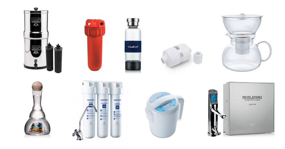 Jak vybrat vodní filtr