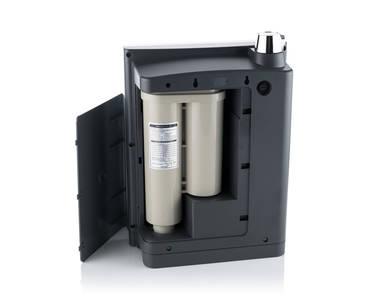 Vnitřek poddřezového ionizátoru vody Ionpia UD-1000