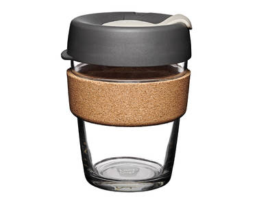 KeepCup (340 ml) PRESS | skleněný hrnek