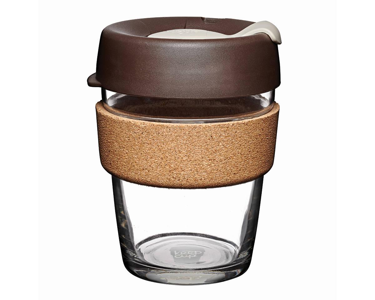 KeepCup (340 ml) ALMOND | skleněný hrnek