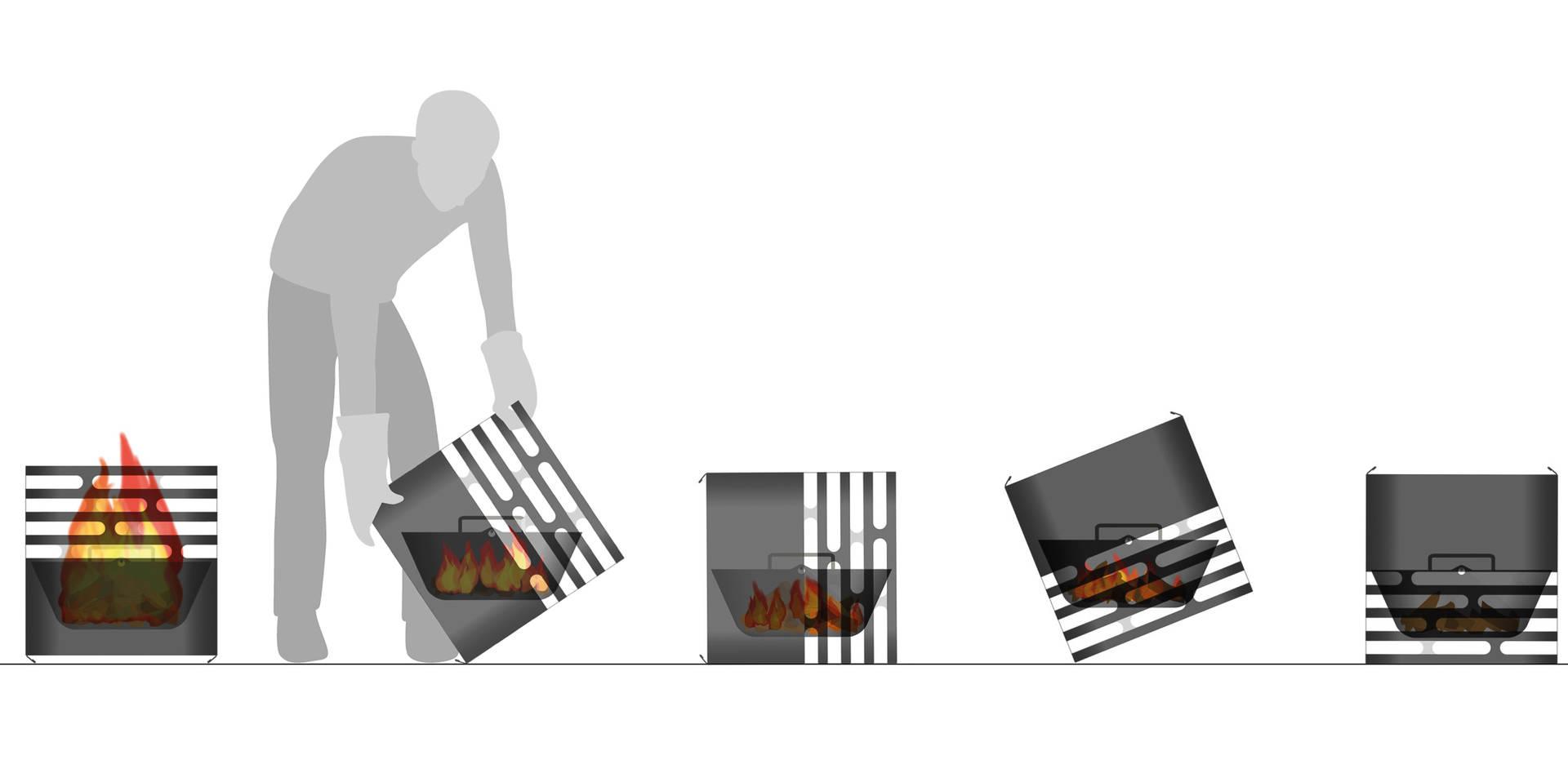 gril höfats cube