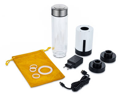 generátor vodíku lahev lazena