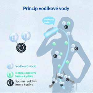 jak funguje vodíková voda