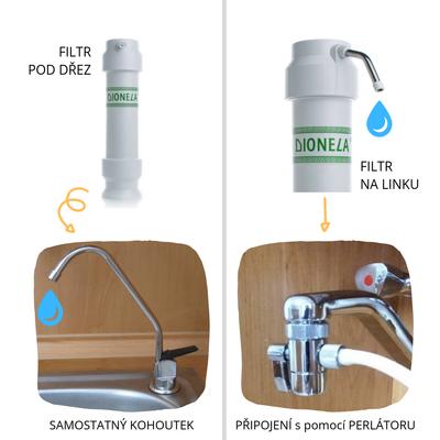 vodní filtr dionela na dusičnany