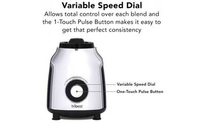 Tribest personal blender dial