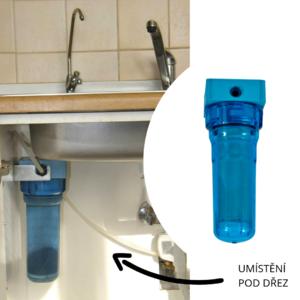 vodovodní filtr rainfresh na dusičnany