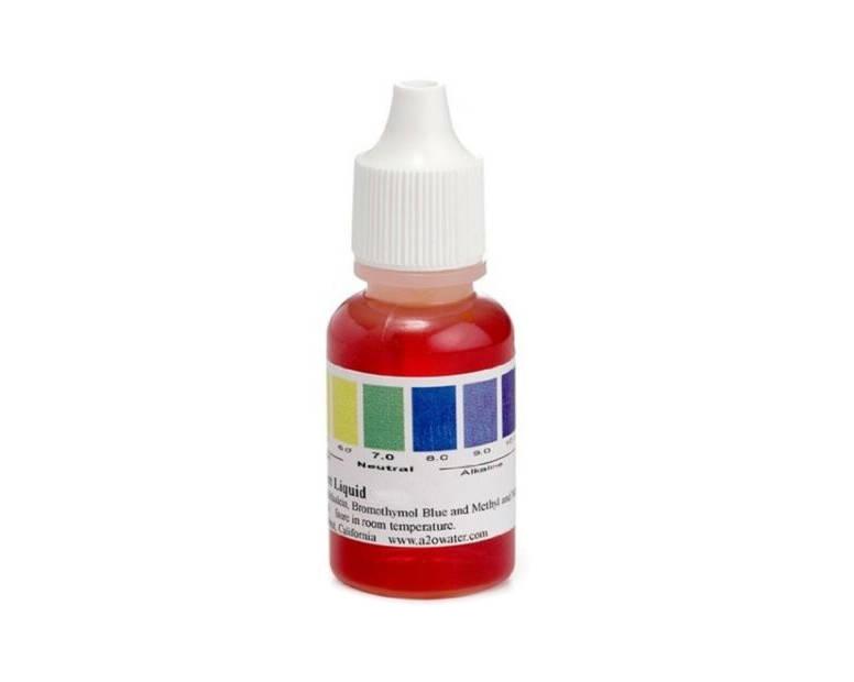 pH kapkový tester