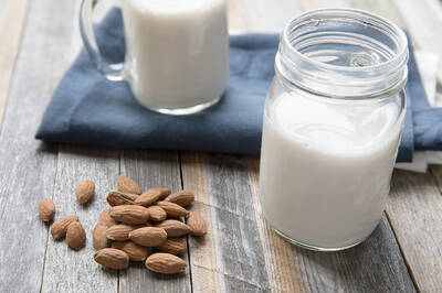 mandlové mléko