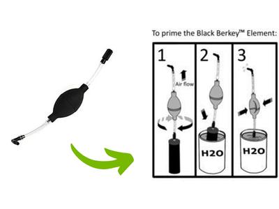 ruční pumpička Black Berkey Primer
