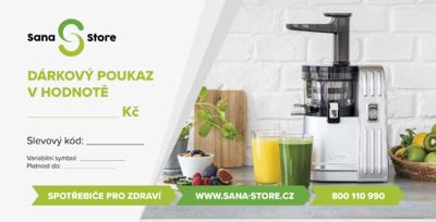Dárkový poukaz Sana Store