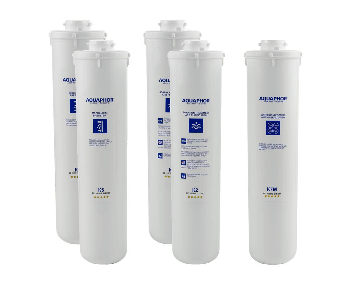 filtry Aquaphor Morion M na 1 rok