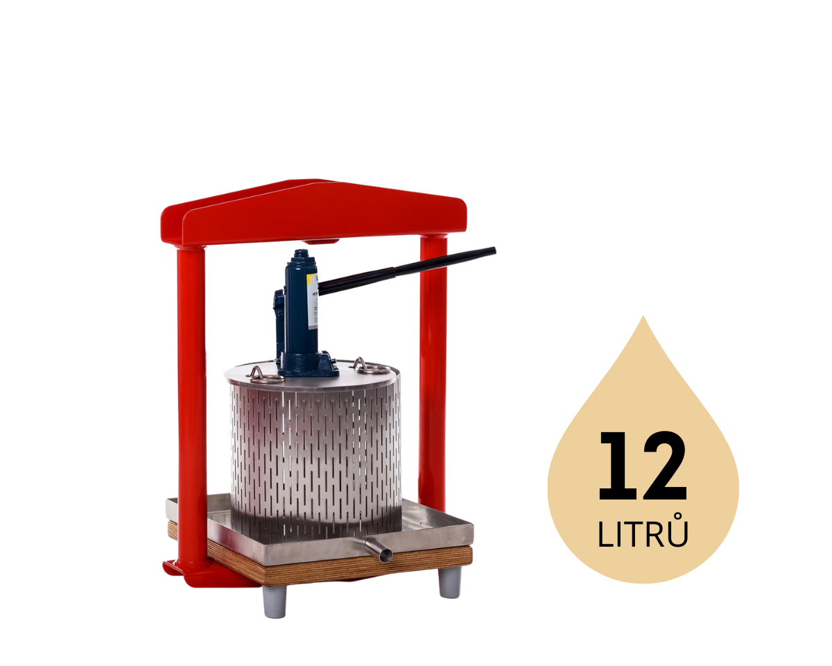 hydraulický moštovač Fruit Press GP-12S
