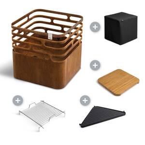 grilovací set Höfats Cube Plus rusty