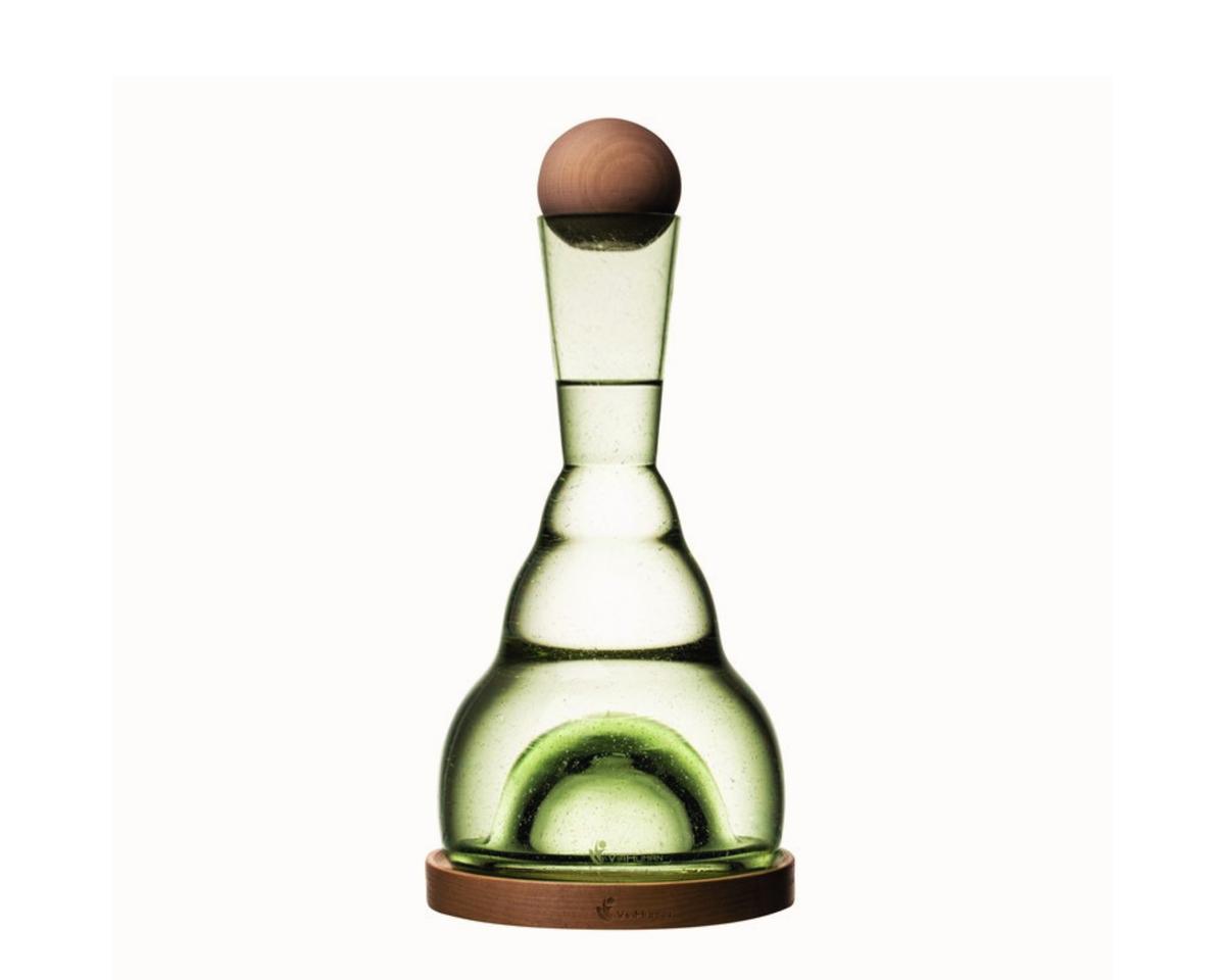 harmonizační karafa ViaHuman BASIC lesní sklo